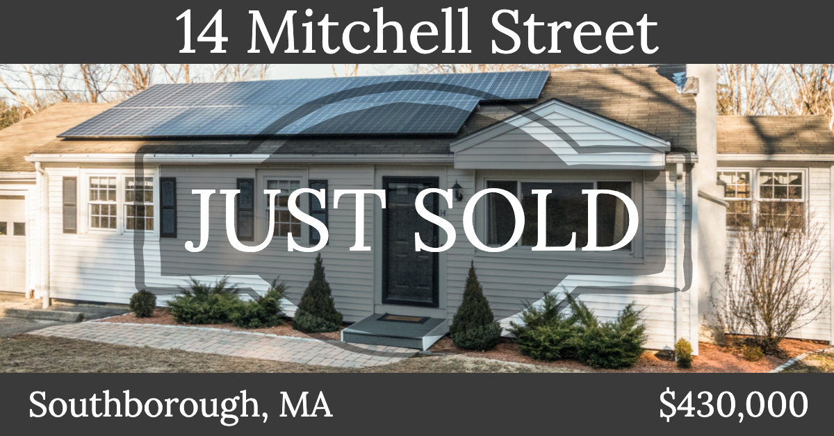 Just Sold - 14 Mitchell